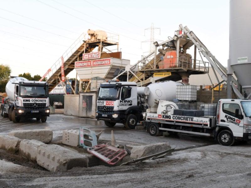 King Concrete Croydon Depot