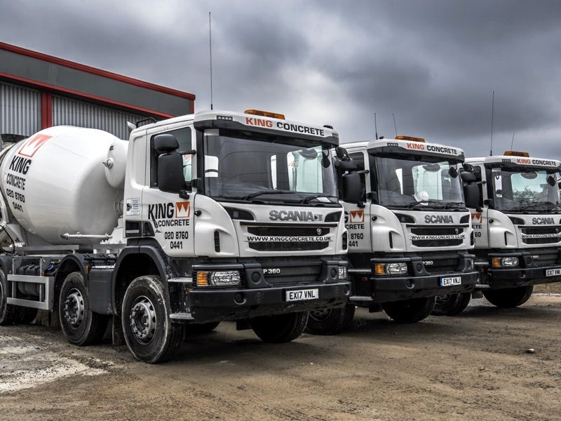 Ready Mixed Concrete Trucks